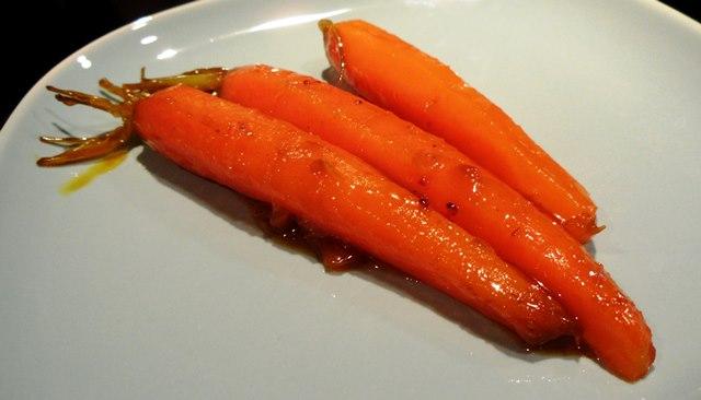 Zanahorias glaseadas.