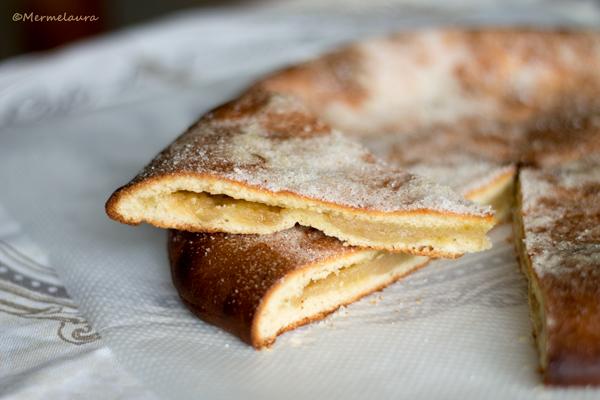 Torta harinosa de Muel.