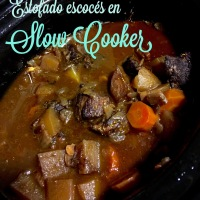 Estofado escocés en slow cooker